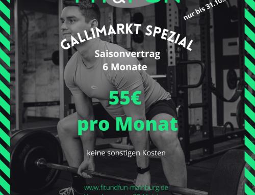+++ Gallimarkt 6 Monats-Saisonvertrag  +++